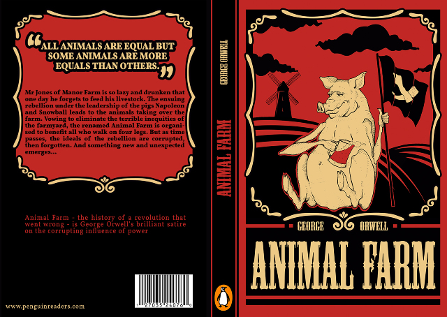 the allegory in animal farm a novel by george orwell