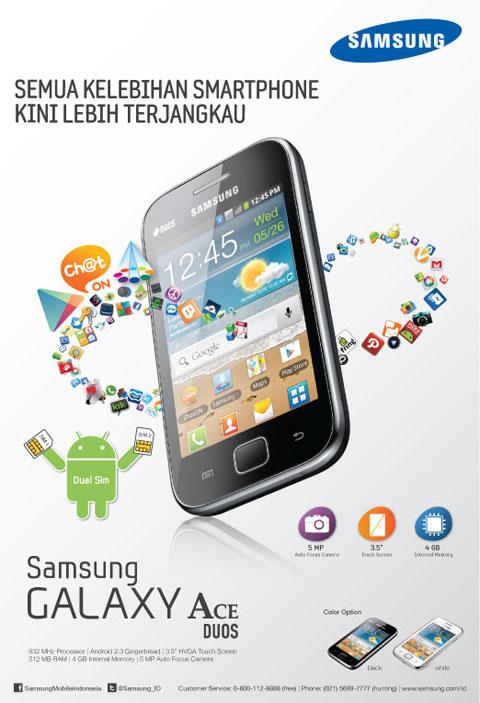 Samsung print ad